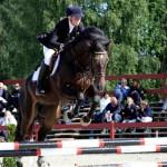 Seier i både 2.kvalifisering og finale i 6-års finalen sponset av Tobajo Sporthorses  Foto: Avlshest.no