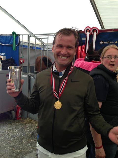 Kongepokal og gull i NM 2013 - Christian A. Øien