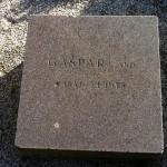 Minnesten til ære for avlshingsten Gaspari som har betydd så mye for svensk dressuravl