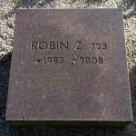 Minnesten for Robin Z. avlshingsten som har preget svensk sprangavl