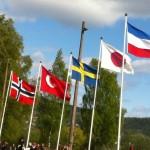 Mange nasjonaliteter til start