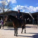 Christian og Twister i Arezzo